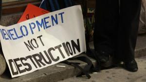 Development not Destruction