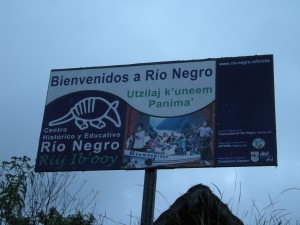 """Welcome to Rio Negro"""