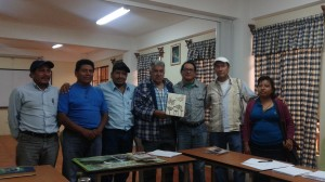 Members of the Huehuetenango Assembly (ADH) and the BTS delegation.