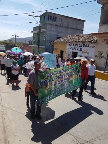 Photo: Resistance in Quesada, Jutiapa